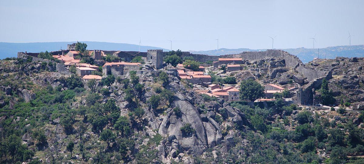 Sortelha Historical Aldeia In The County Sabugal