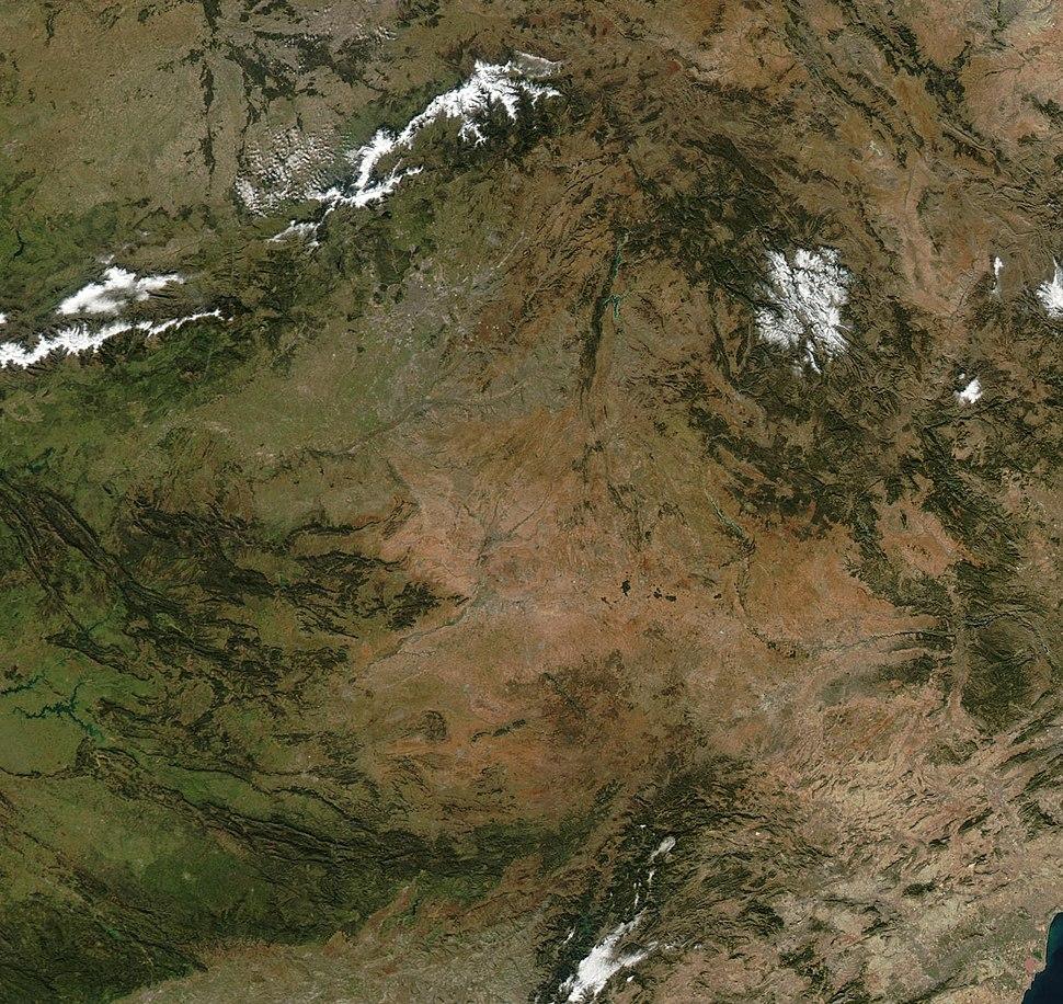 Castilla-La Mancha NASA