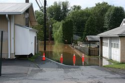 Parts of Catawissa were flooded in 2011 by Tropical Storm Lee