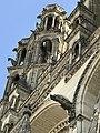 Cathédrale de Laon porche frontal.jpg
