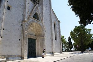 Fermo - The cathedral of Fermo.