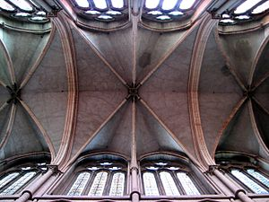 Bay (architecture) - An interior bay, between the supports of the vaults, in a cathedral.