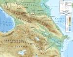Caucasus topographic map-hu.png