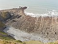 Caunter Beach, a wave-cut platform - geograph.org.uk - 405023.jpg