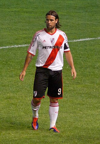 Fernando Cavenaghi - Cavenaghi playing for River Plate in 2012