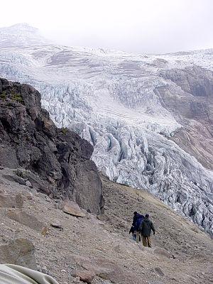 Pichincha Province - Image: Cayambe volcano 009