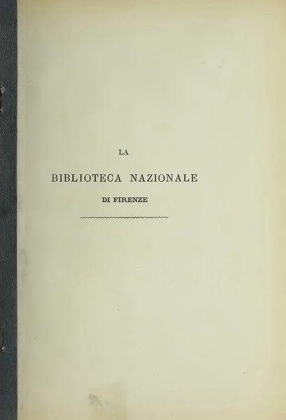 File:Cenni storico-bibliografici della R. Biblioteca nazionale di Firenze.djvu