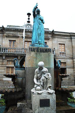 Rosendo Salvado - Statute of Rosendo Salvado, located in his hometown of Tui, Pontevedra, Galicia, Spain