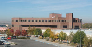 Central New Mexico Community College - Max Salazar Hall in the Main Campus