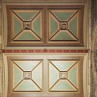 Balcony ceiling panels