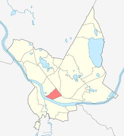 Location of Centrs