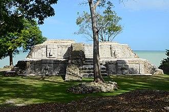 Corozal Town - Image: Cerros Ruins, Corozal, Belize