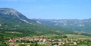 Cesta, Ajdovščina - Image: Cesta Ajdovscina
