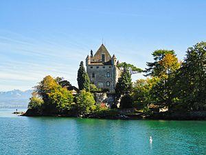Yvoire - Château d'Yvoire on Lake Geneva