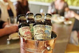 Chameleon Cold-Brew - Bottles of Chameleon Cold-Brew.