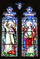 Chancel arch window, St John the Baptist's Church, Beeston.jpg