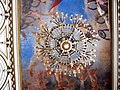Chandelier from below with painting in Cuba.jpg
