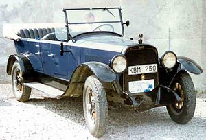 Chandler Motor Car - Chandler Light Weight Model 19 Touring 1919