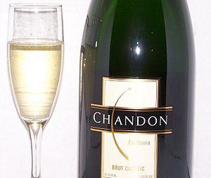 Domaine Chandon California - Image: Chandon California Brut sparkling wine