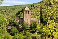 Chapel St. Veran in the Dourbie Canyon at 23 June 2015 - panoramio.jpg