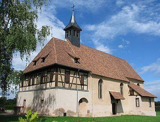Plobsheim - Notre Dame du Chêne chapel