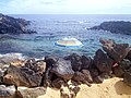 Charco del Palo, Lanzarote. Natural swimming pool. - panoramio.jpg