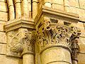 Chars (95), église Saint-Sulpice, bas-côté sud, chapiteaux au début des grandes arcades 1.JPG