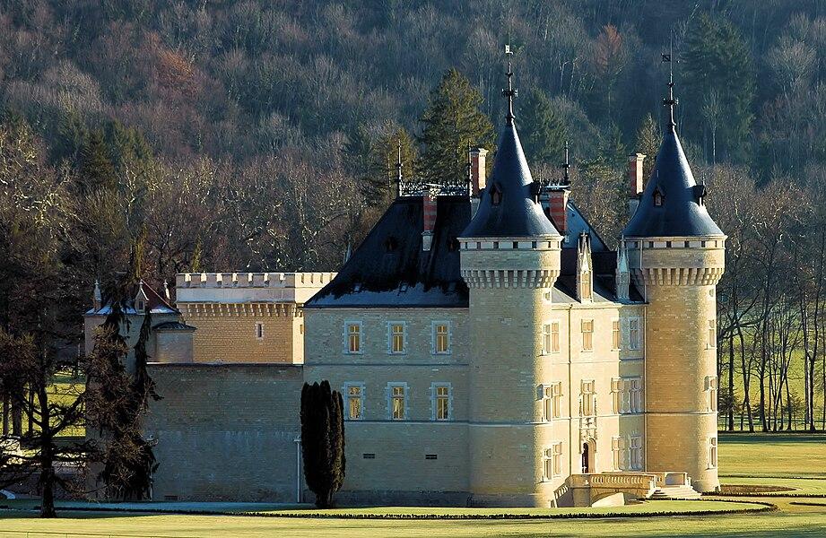 Château de Cornod (Jura, France)