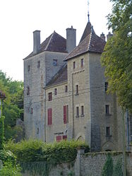 The chateau in Joncy