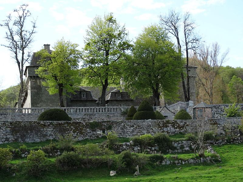 Château de la Baume in Summer