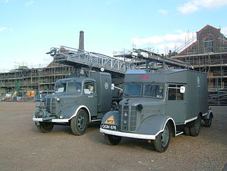 National Fire Service - NFS appliances preserved today