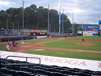 AT&T Field - Image: Chattanooga AT&T Field