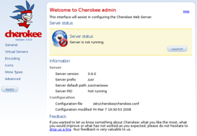 Image illustrative de l'article Cherokee Web Server
