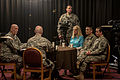 Chief of Staff of the Army Gen. Raymond Odierno holds a roundtable discussion with Soldiers and civilian personnel assigned to the Eighth Army while taping a public service announcement in Yongsan, South Korea 140225-A-KH856-339.jpg