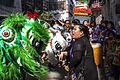 Chinese New Year 2014 in Kolkata - Lady Group Dragon Dance.jpg
