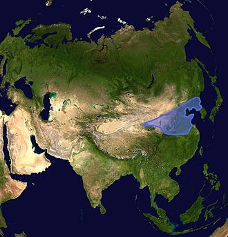 North China Craton - Image: Chino Korean craton location