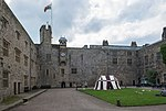Chirk Castle courtyard and west range.jpg
