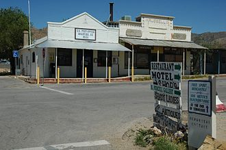 Chloride, Arizona - Chloride town center