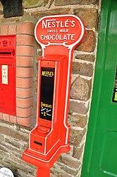 Chocolate machine at Woody Bay railway station (1086).jpg