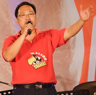 Opposition (Malaysia) - Image: Chong Chieng Jen during Malaysian GE 13