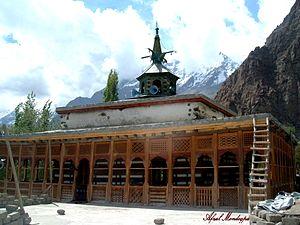Khaplu - Image: Chqchan mosque