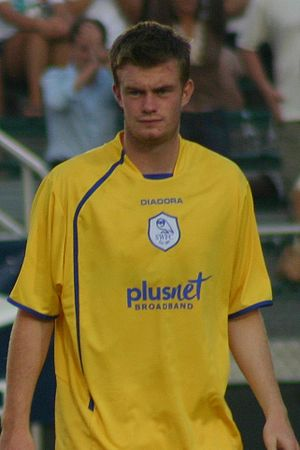 Chris Brunt - Brunt playing for Sheffield Wednesday in 2006