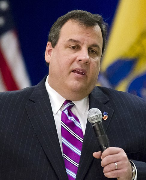 File:Chris Christie at townhall.jpg