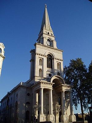 Fournier Street -  Christ Church, Western Corner