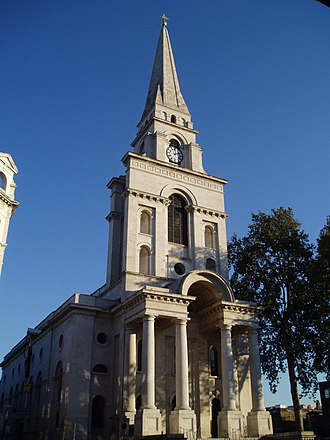 Fournier Street - Christ Church, Western Corner