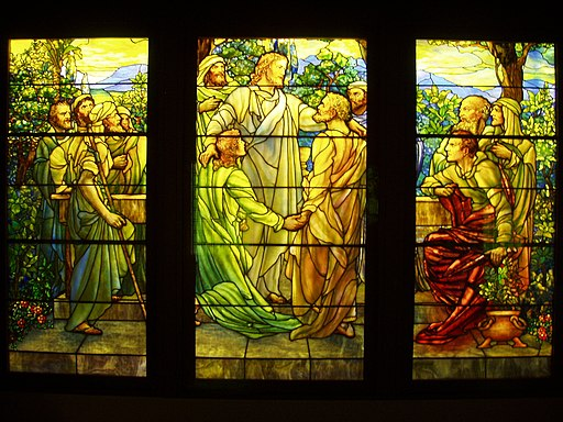 Christ and the Apostles - Tiffany Glass & Decorating Company, c. 1890