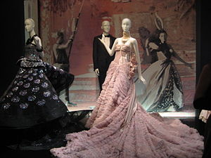 John Galliano - Galliano ballgowns designed for Dior as exhibited in Moscow, 2011