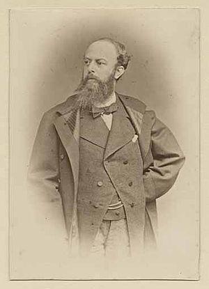 Christian Jank - Christian Jank about 1880
