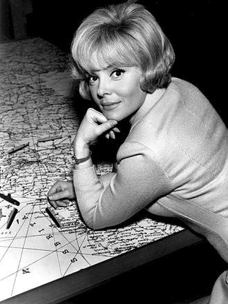 Christine Carère - Carère in Blue Light, 1966.