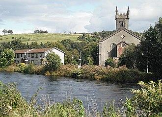 Bonhill - Image: Church, Bonhill geograph.org.uk 1479526